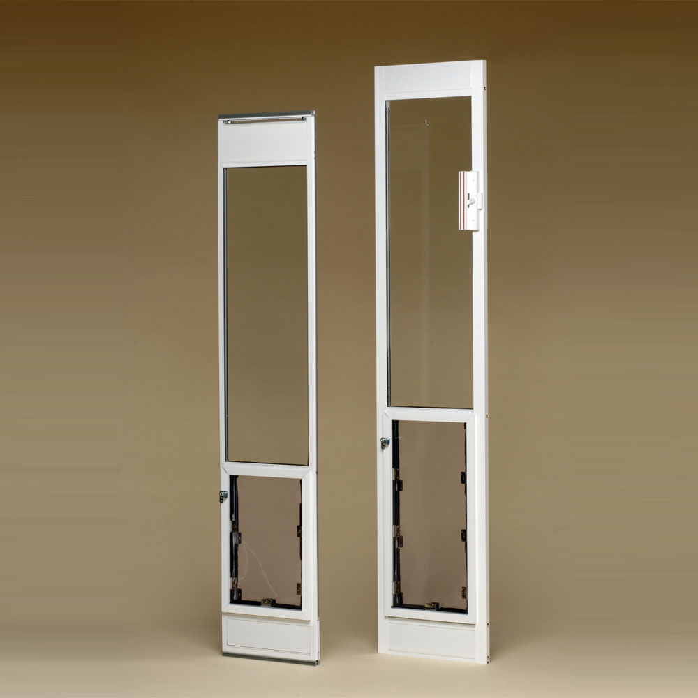 Patio Door Pet Door Insert: Jump Home Dog Training