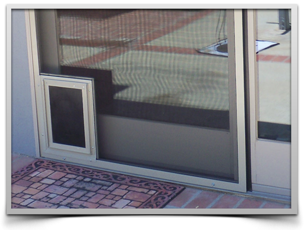 inscreen pet doors