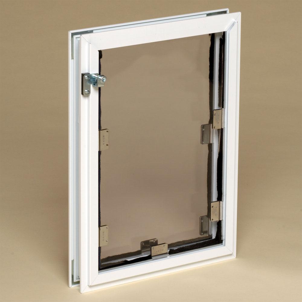 Hale pet door door mount premium pet doors for Door with dog door
