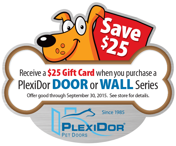 Plexidor 174 Wall Mount Premium Pet Doors